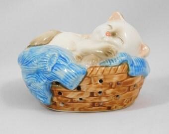 Sleeping Kitten Pomander, Air freshener, Avon, 1983