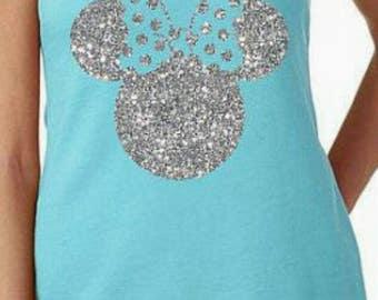 Disney shirt- personalized Disney shirt- customized Disney shirt- Disney shirt with name- monogrammed Disney shirt- Minnie Mouse shirt