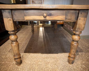 Restored farmhouse Dining table - 6 Seater