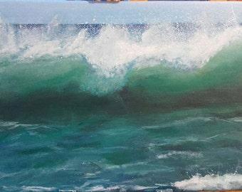 Wave painting - Atlantic Wave
