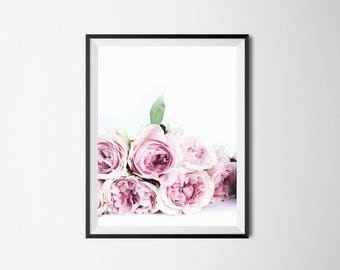 Peony print, Peonies, pink peonies, flower photography, Botanical print, plant print, nature photography, floral photography, gift for her