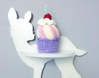 MADE TO ORDER- Crochet cupcake Amigurumi play food