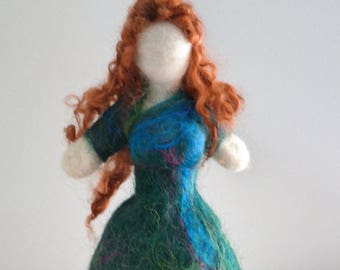 Nerthus Soft Statue. Jord Soft Statue. Needle Felted Mother Earth Soft Sculpture. Heathen Gift Ideas. Wiccan Gift. Pagan Gift Ideas. Gaia.