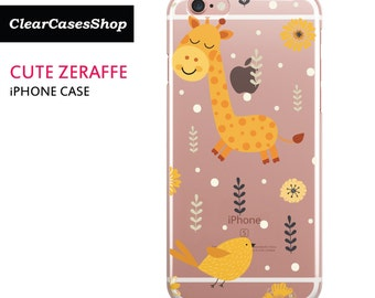 Cute Giraffe iPhone 7 case, Also Available for iPhone 7 Plus, iPhone 6, iPhone 6 Plus, iPhone 6s Plus, iPhone 5/S/SE, S7 & S7 Edge