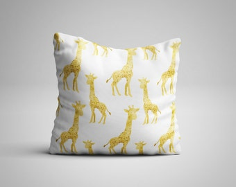 Giraffe Cushion.