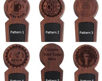 Custom Beer Tap Handle, Wood Beer Keg Tap Handle, Homebrew Beer Tap, Kegerator Tap Handle, Personalized Men's Gift