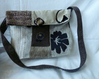 Tones Brown Satchel bag - black