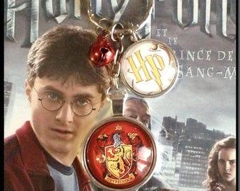 "Key ring theme Harry Potter ""Gryffindor House"""