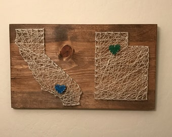 2 State String Art