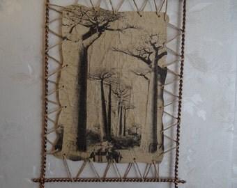 Decor . Modern Home Decor.old picture.filigree. forging.