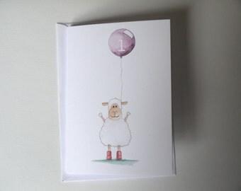 Handmade 1st birthday card // Happy 1st birthday day // Animal 1st birthday card // Handmade first birthday card //