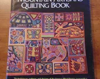 The Mountain Artisans Quilting Book   Alfred Alan Lewis   1974  OOP