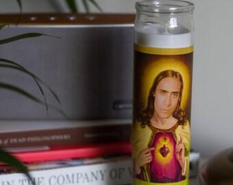 Nicolas Cage Prayer Candle / Saint Nicolas Prayer Candle