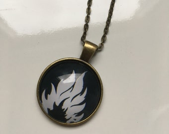 Sale! Divergent Dauntless necklace