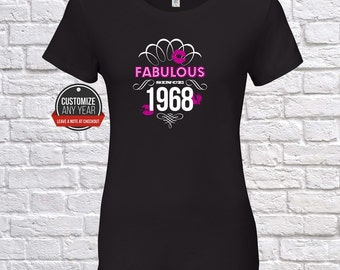 Fabulous since 1968, 49th birthday, 49th birthday gifts for women, 49th birthday gift, 49th birthday tshirt, gift for 49th ,