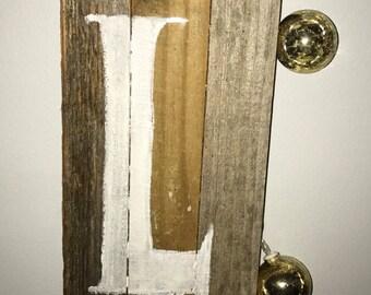 Letter Wood Hang