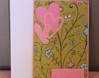 Happy Valentine's Day - Handmade Valentine's Card