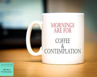 Coffee & Contemplation | Stranger Things Inspired Mug