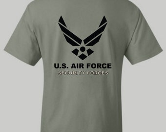 U.S. Air Force Security Forces shirt, USAF, Us Air Force, tshirt, hoodie, long sleeve shirt