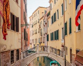 Venice Photography, Italy Photography, Venice Bridge, Fine Art Print Italy, Italy Print, Italy Photo, Venice Print, Venice Wall Art