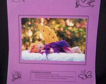 "Blossom Soft Cloth Doll Pattern 18"" 46cm Ann Clemens 2001"