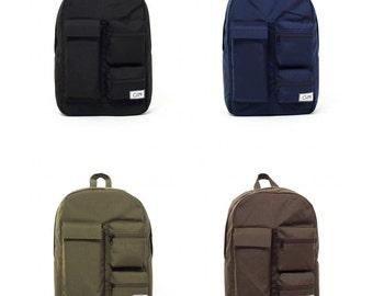 Laptop Backpack, Canvas Backpack, Mens Backpack, Backpack Men, Backpack Laptop, Vegan Bag, Handmade Backpack, Vegan Backpack, Black Backpack