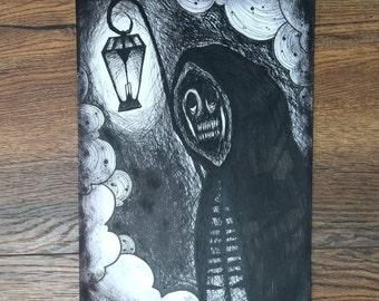 Horror #3 : A4 Art Print