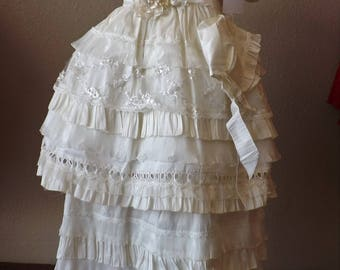 ROBE of christening, Christining Baptism Gown, Baptism Gown. Baptism Dress