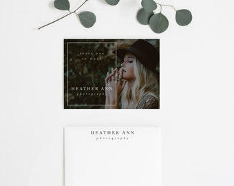 Thank You Cards Add On Marketing Branding Logo Photographer Photography Small Business Style 5