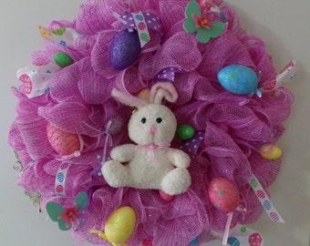 Easter Wreath, Easter Bunny Wreath, Bunny Wreath, Spring Wreath, Spring