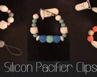 Silicon Pacifier Clips