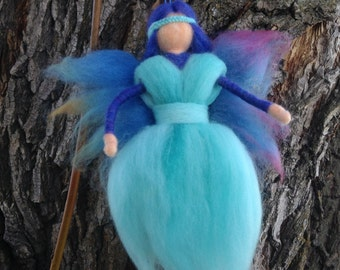 Needle Felted Fairy, Waldorf Inspired, Home Decor, Free Shipping