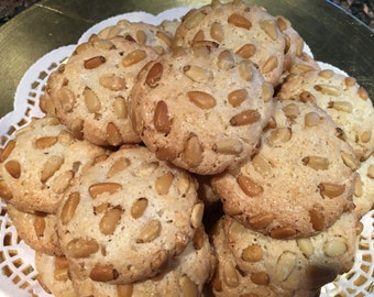Pignoli Cookies (naturally gluten-free)