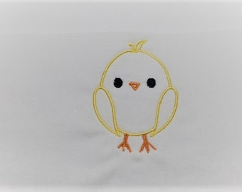 Chick Easter Embroidery Design, Easter Embroidery Design, Baby Embroidery Design, Girl embroidery design, Bunny embroidery design