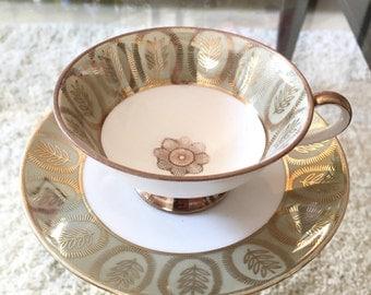 Vintage Winterling Porcelain Tea Cup Saucer Plate Sugar Bowl Porzellan Tasse Unterteller Zuckerdose