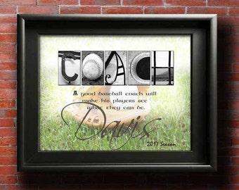 Baseball Coach Gift, Gift for Coaches, Baseball Mom, Gifts For Coach Quote, Baseball Coach Gifts, Baseball Coach Art, Coaches Gift PRINTABLE