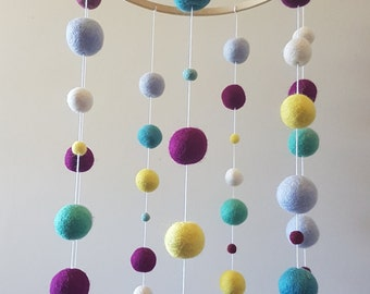 Colourful Baby Mobile **ready to post**