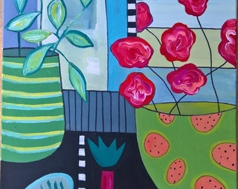 still life no.1   40cm x 40cm on canvas