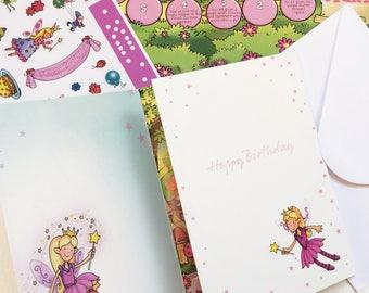 Fairies Birthday activity card