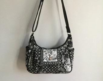 Black and White Quilt Bag