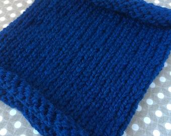 Cobalt Blue Toddler Cowl