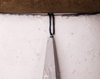 Karelian shungite pendant Pendulum, EMF protection, Shungit stone Magic, schungit healing gemstone stones talisman health  EMF