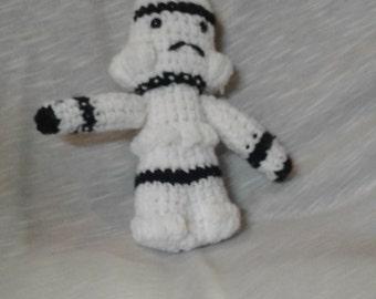 Crocheted Storm Trooper