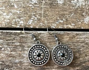 Tribal Stone Earrings