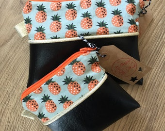 Pouch (small and medium) Pineapple