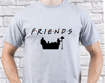 Friends/ Friends TV Show/ mens tshirt/ Rachel Green/ Monica Geller/ Phoebe Buffay/ Best Friend Gift/ Roommate tshirt/ Friends tshirt/ (FR03)