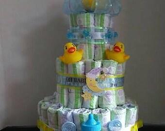 Quackin' Me Up Diaper Cake