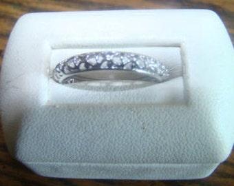 SALE Lovely Vintage Sterling Silver Ring