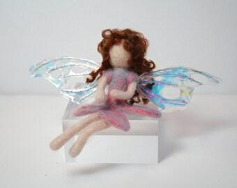 Waldorf Needle Felted Fairy - Lizzie