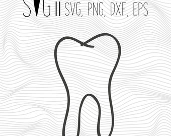 Teeth Svg, Dentist Svg, Tooth Svg Files, Svg for Silhouette, Svg File For Cricut, Cutting File, Cut Out Svg, Vinyl Decal, Teeth Logo Dentist